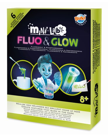 BUKI - Mini lab FLUO&GLOW 3011