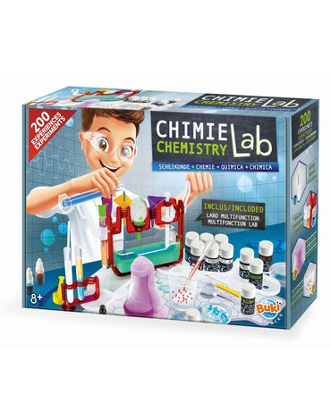 BUKI - Laboratorium chemiczne 200 eksperymentów 8364