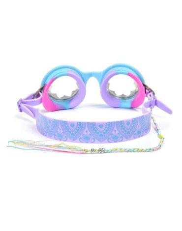 Okulary do pływania Henna, niebieskie, Bling2O