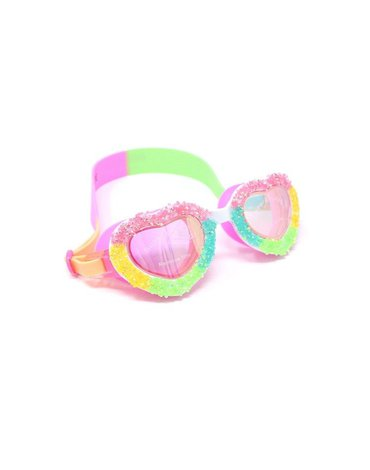 Okulary do pływania Pop Rocks, serca, Bling2O