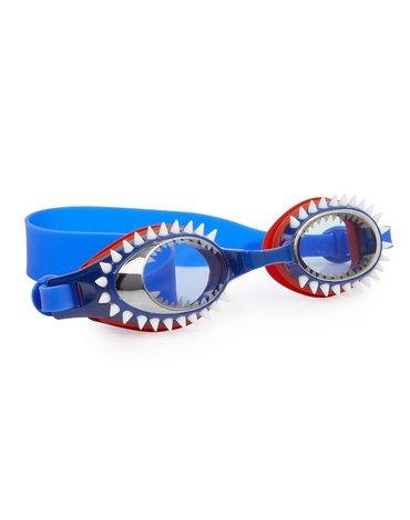 Okulary do pływania Rekin, niebieskie, Bling2O