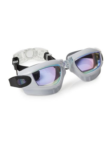 Okulary do pływania Galaxy, białe, Bling2O