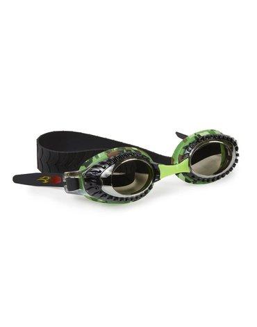 Okulary do pływania Pojazdy terenowe, zielone, Bling2O