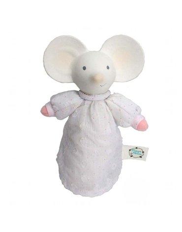 Meiya and Alvin - Meiya & Alvin - Meiya Mouse Organic SOFT Squeaker z kauczukową główką