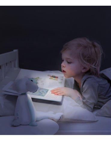 Zazu Kids - Zazu FIN Lampka do Czytania Owca Grey