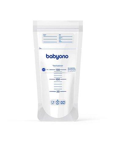 BABYONO - 1039 Woreczki do przechowywania pokarmu