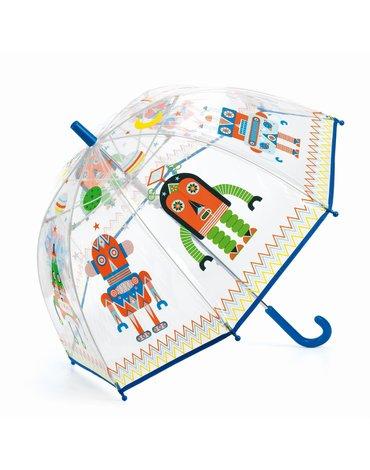 Djeco - Parasol przeciwdeszczowy ROBOTY DD04806