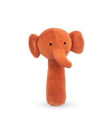 Jollein - Baby & Kids - Jollein - miękka grzechotka Elephant Rust