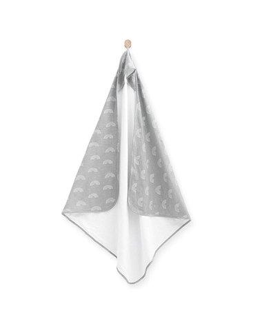 Jollein - Baby & Kids - Jollein - ręcznik kąpielowy 100 x 100 Rainbow Grey