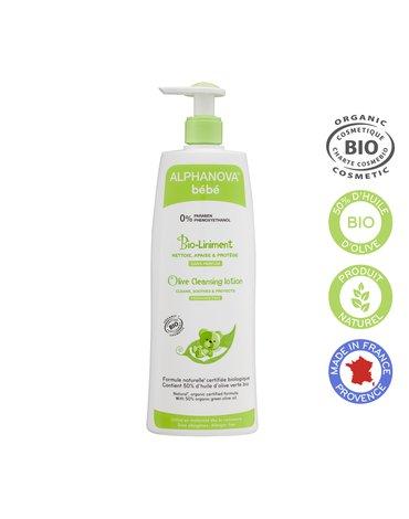 Alphanova Bebe Organiczna oliwka z wodą wapienną BIO-Liniment, 500 ml