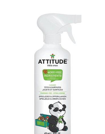 Attitude, Płyn do czyszczenia zabawek i powierzchni w pokoju dziecka Bezzapachowy (fragrance free) 475 ml