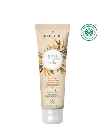 Attitude, Odżywka do włosów nadająca objętość i połysk z Białkiem sojowym i Żurawiną, 240 ml