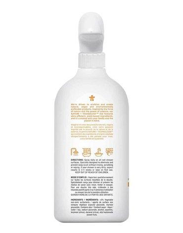 Attitude, Płyn do czyszczenia prysznica, Skórka Cytrynowa (Citrus Zest), 800 ml