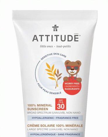 Attitude Baby krem do opalania SPF30 75 g