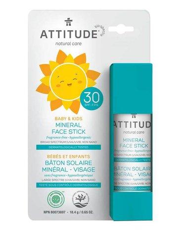 Attitude Baby Sztyft do twarzy i ust SPF30 18,4 g