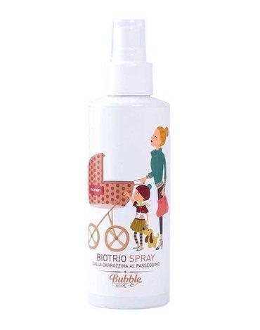 Bubble&CO - Naturalny Spray Dezynfekujący, Relaksujący i Odstraszający Komary dla Dzieci 100 ml