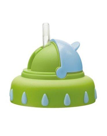 Bibi Swiss - Nakładka na kubek ze słomką/ zielony