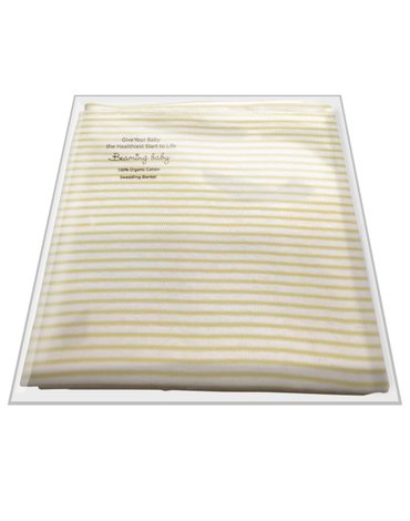 Beaming Baby, Kocyk dziecięcy dwuwarstwowy, 100% bawełna organiczna, 75x75cm