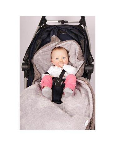 Baby's Only, Cable anthracite, Śpiworek do wózka, czarny