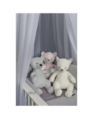 Baby's Only, Classic Przytulanka Miś 35cm, Biały,  WYPRZEDAŻ -50%