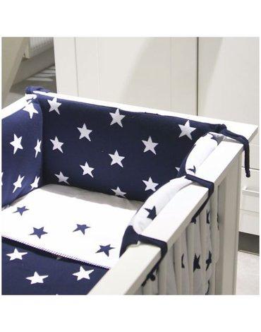 Baby's Only, Star Ochraniacz na łóżeczko, 40x180cm, Miętowy/Biały