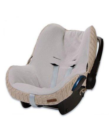 Baby's Only, Cable Beige Ochraniacz na fotelik samochodowy 0+, beżowy