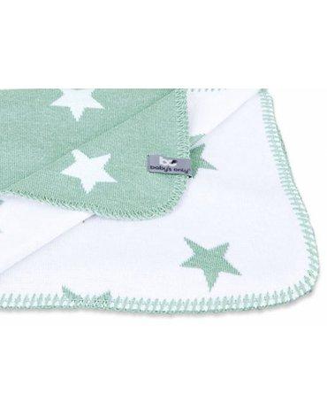 Baby's Only, Star Narzuta dwustronna, 140x200cm, Jasnoszary/Biały