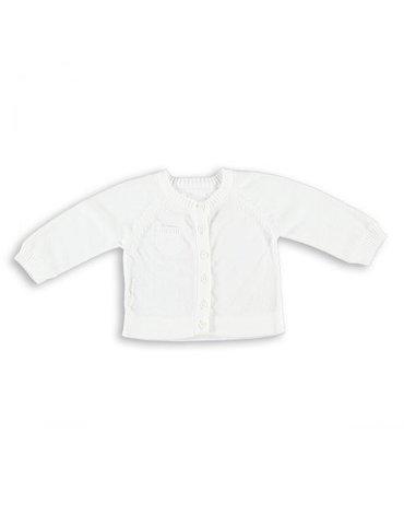 Baby's Only, Sweterek rozpinany Biały, rozmiar 56 SUPER PROMOCJA -50%
