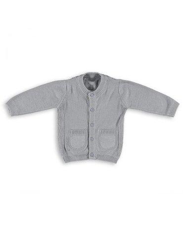 Baby's Only, Sweterek rozpinany Jasnoszary, rozmiar 62 SUPER PROMOCJA -50%