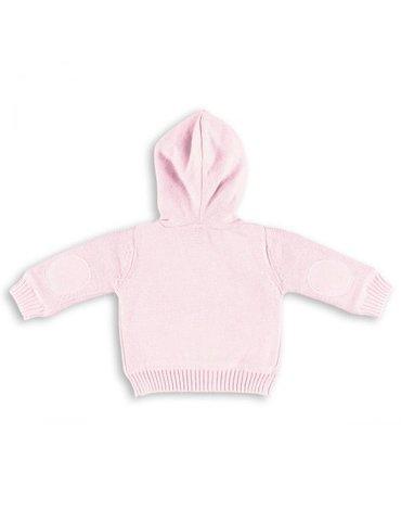 Baby's Only, Sweterek rozpinany z kapturem Różowy, rozmiar 56