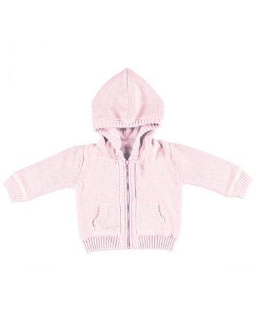 Baby's Only, Sweterek rozpinany z kapturem Różowy, rozmiar 62
