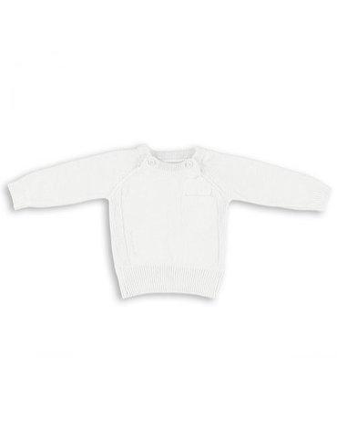 Baby's Only, Sweterek motylkowy Biały, rozmiar 68