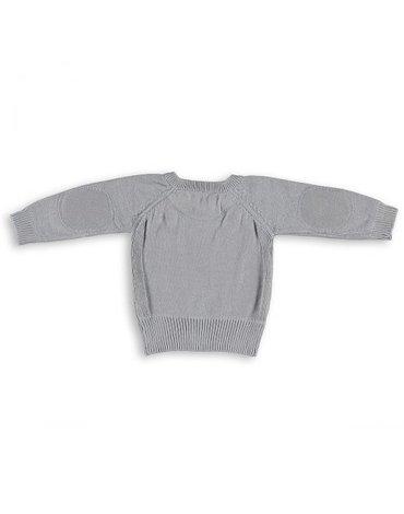 Baby's Only, Sweterek motylkowy Jasny Szary, rozmiar 56