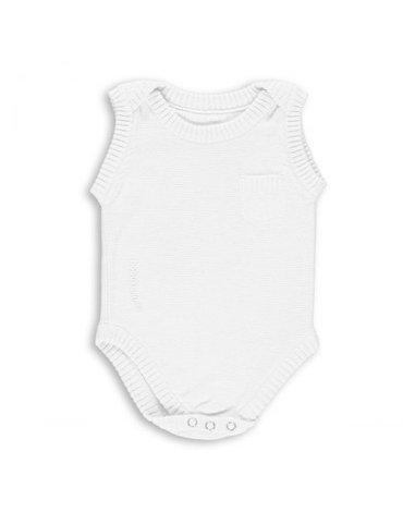 Baby's Only, Body tkane, Białe, rozmiar 50/56 SUPER PROMOCJA -50%