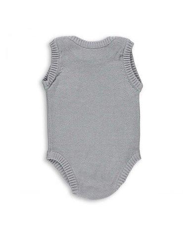 Baby's Only, Body tkane, Jasnoszare, rozmiar 62 SUPER PROMOCJA -50%