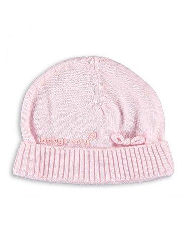 Baby's Only, Czapeczka tkana, Różowa, rozmiar uniwersalny SUPER PROMOCJA -50%