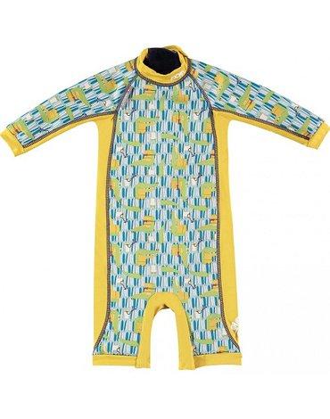 Close, Ocieplany kombinezon do pływania dla dziecka, Krokodyl (Charles and Erin), Large (18-24 miesięcy),OSTATNI RAZ W OFERCIE