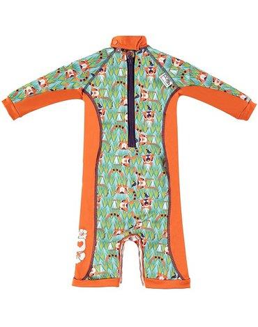 Close, Ocieplany kombinezon do pływania dla dziecka, Tygrys (Oswald and Bo), Medium (12-18 miesięcy), OSTATNI RAZ W OFERCIE