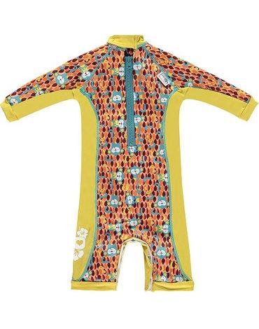 Close, Ocieplany kombinezon do pływania dla dziecka, Małpki (Ticky and Bert), Medium (12-18 miesięcy), OSTATNI RAZ W OFERCIE