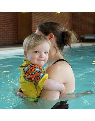 Close, Koszulka do pływania UPF50+, Małpki (Ticky and Bert), L (18-24 miesięcy), OSTATNI RAZ W OFERCIE