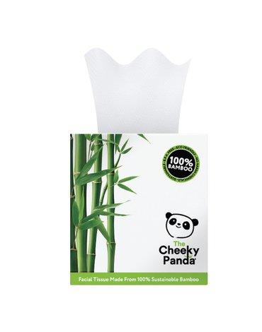 Cheeky Panda, Chusteczki kosmetyczne uniwersalne, pudełko kostka 56 szt.