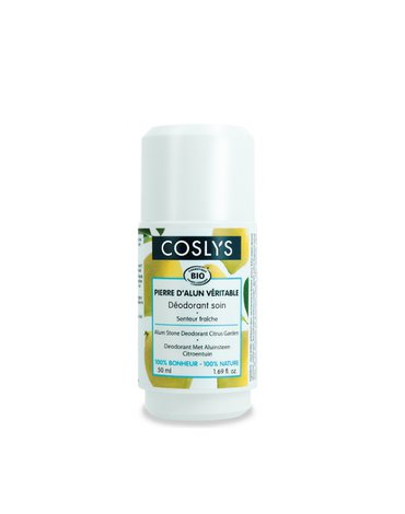 Coslys, Ałunowy dezodorant cytrusowy ogród, 50 ml