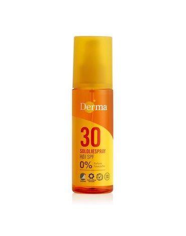 Derma Sun, Olejek słoneczny SPF 30, 150 ml