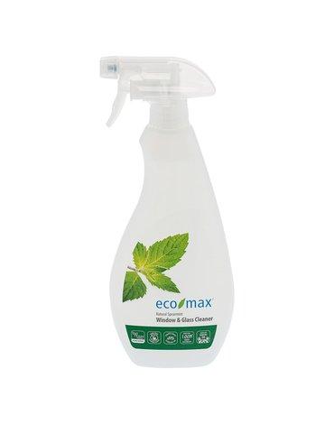 Eco-Max, Spray do okien i wszelkich powierzchni szklanych, mięta, 710ml