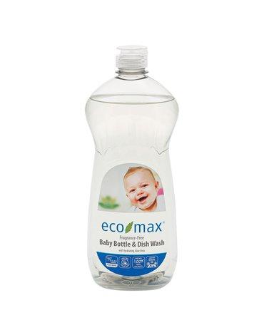 Eco-Max, Płyn do butelek dziecięcych, bezzapachowy, 740ml