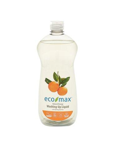 Eco-Max, Płyn do zmywania, pomarańcza, 740ml