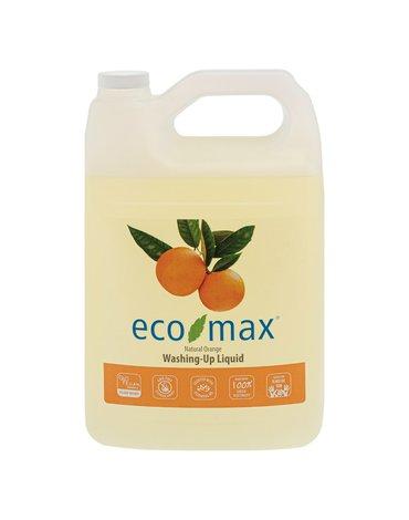 Eco-Max, Płyn do zmywania, pomarańcza, 4L