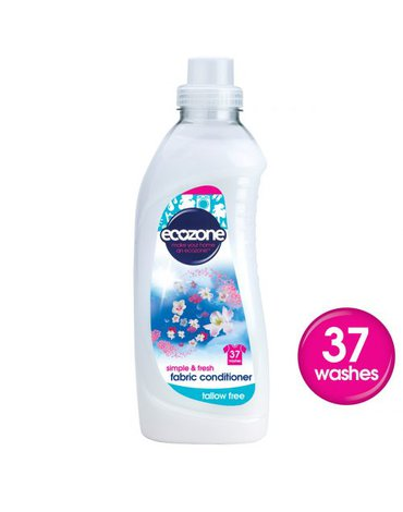 Ecozone, Płyn Zmiękczający do Tkanin, 1L, 37 prań