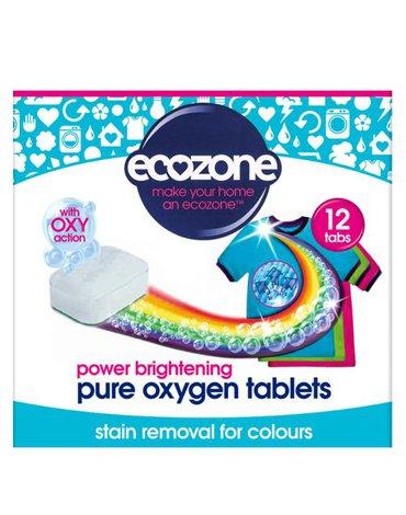 Ecozone, Odplamiacz do kolorów Pure oxygen, 12 tabletek