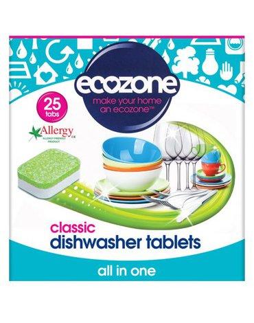 Ecozone, Tabletki do Zmywarki Classic, 25 szt.